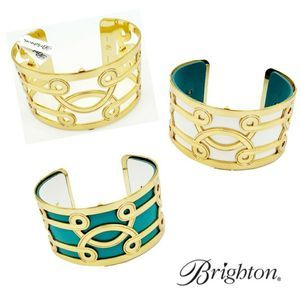 Brighton Lima Wide Cuff Bracelet Set